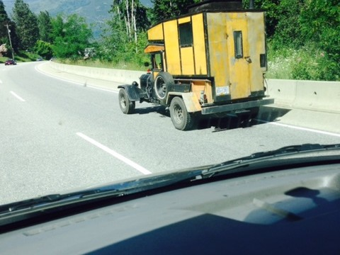 What you see on the road